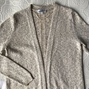 Northern Reflections | Textured Neutral Cardigan